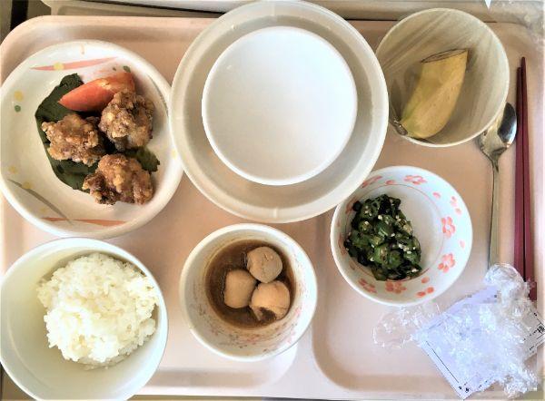 病院の付き添い人食