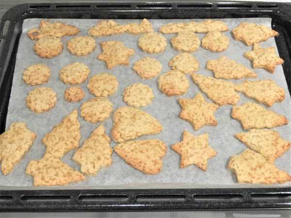 米粉とオリーブオイルのクッキー