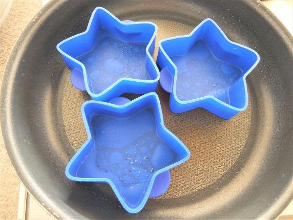 シリコン製の星形の型