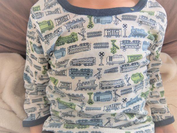総柄のインナーシャツ